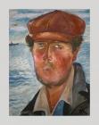 живопись рыбак портрет