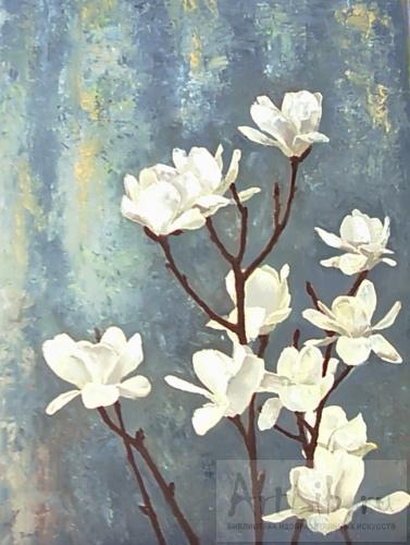 цветы живопись: