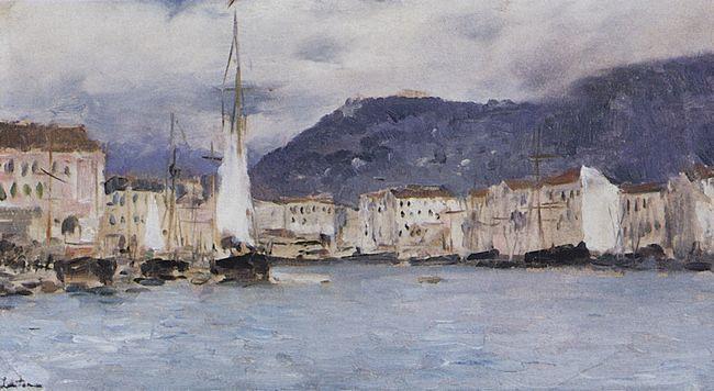 Итальянские пейзажи в живописи