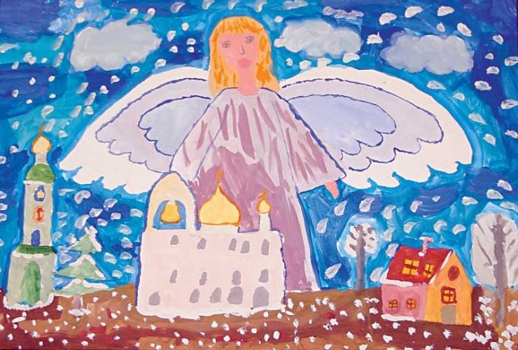 Конкурс детских рисунков ангел вдохновения