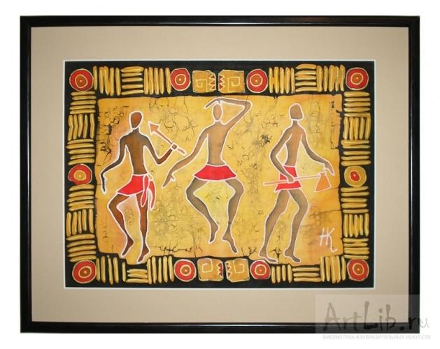 танец древних.  Аннотация: этнические мотивы...