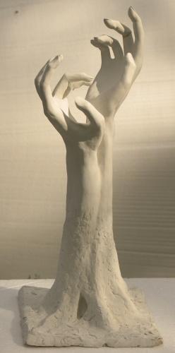 Скульптура руки сделать своими руками