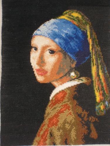 Девушка с жемчужной сережкой.