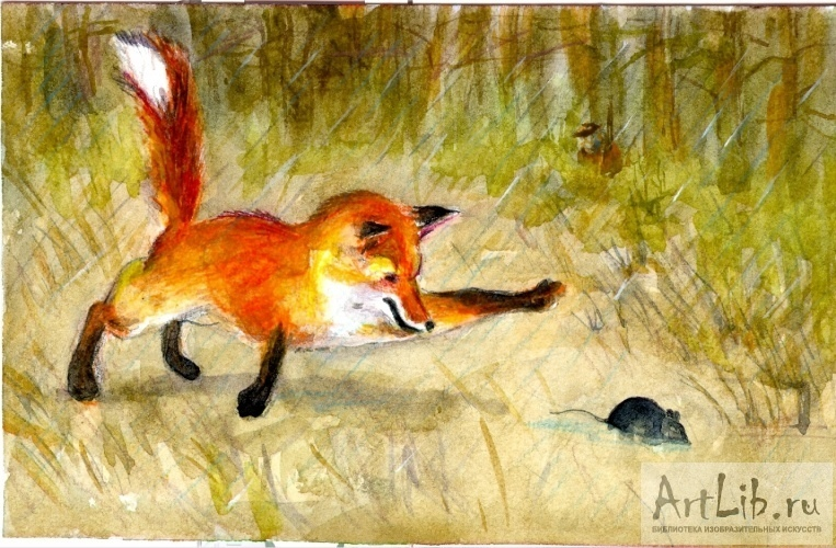 картинки лиса плясунья