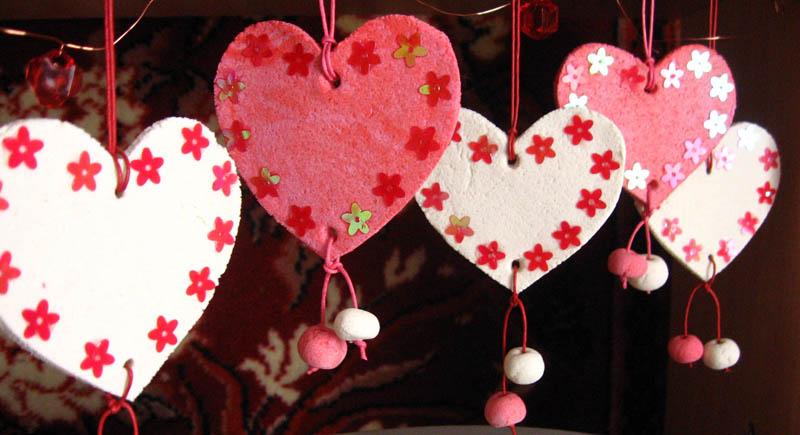 Поделки в дню святого валентина