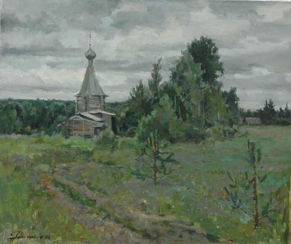 Картинки природа с церквушкой