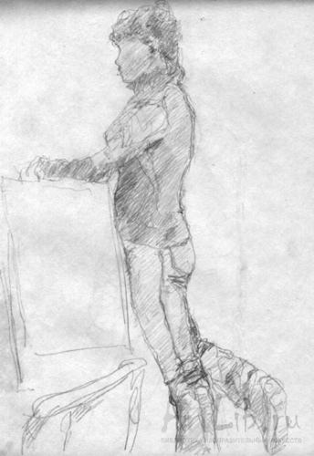 Портрет бенуа рисование поэтапно
