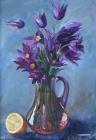 """Схема вышивки  """"Первые цветы """": таблица цветов."""