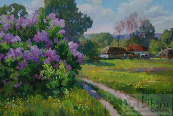 Деревенские пейзажи фото