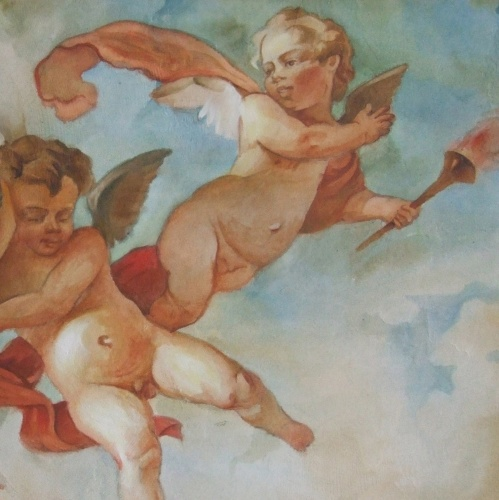 живопись фрески:
