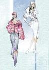 Аннотация: Эскизы моделей одежды из коллекции Abal.