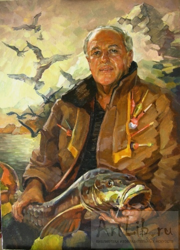 мужчины рыбаки портреты