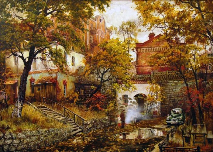 异国画苑(701)俄罗斯藝術家 葉夫根尼·奧西波夫和奧克薩娜的作品 - 笑然 - xiaoran321456 的博客