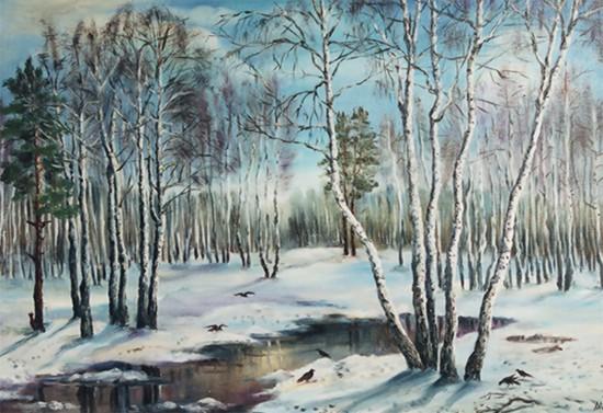 Картинки с ранней весной пейзажами