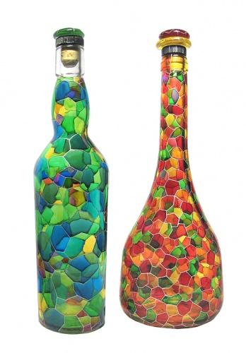 Из пластиковых бутылок для сада