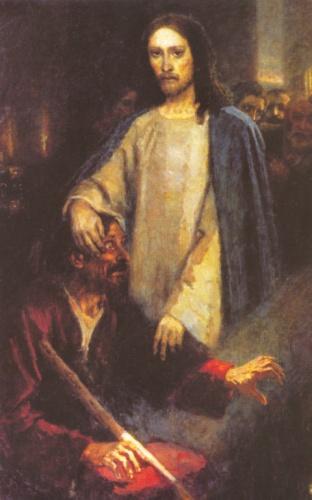 сліпий та Ісус