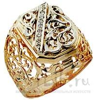 золотые печатки с камнем и перстни