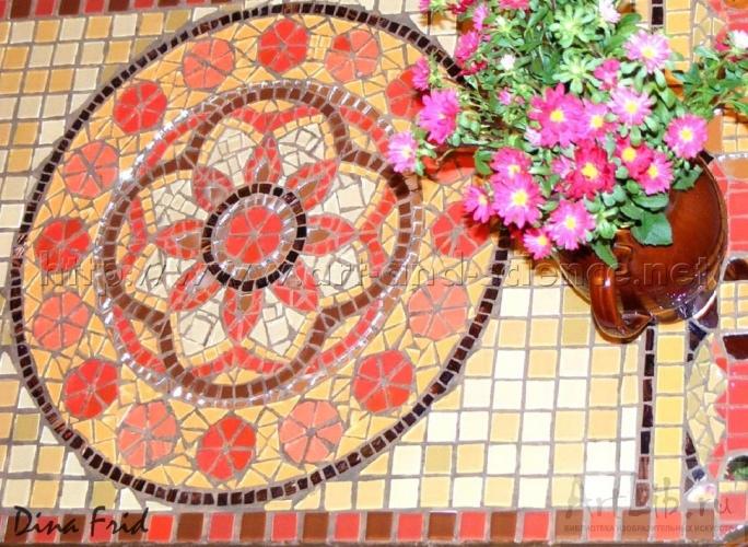 Орнамент для мозаики своими руками
