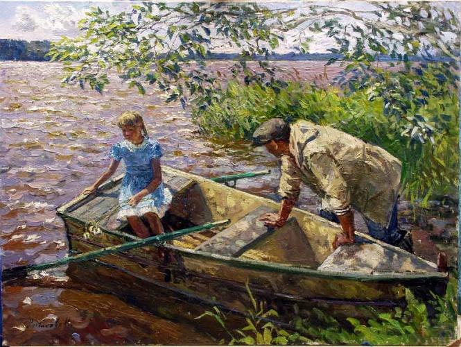 художник рыбаков юрий