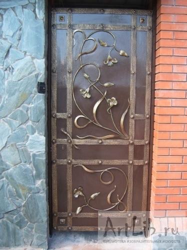 входные металлические двери ворота