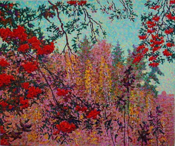 Картинки про осень рябина