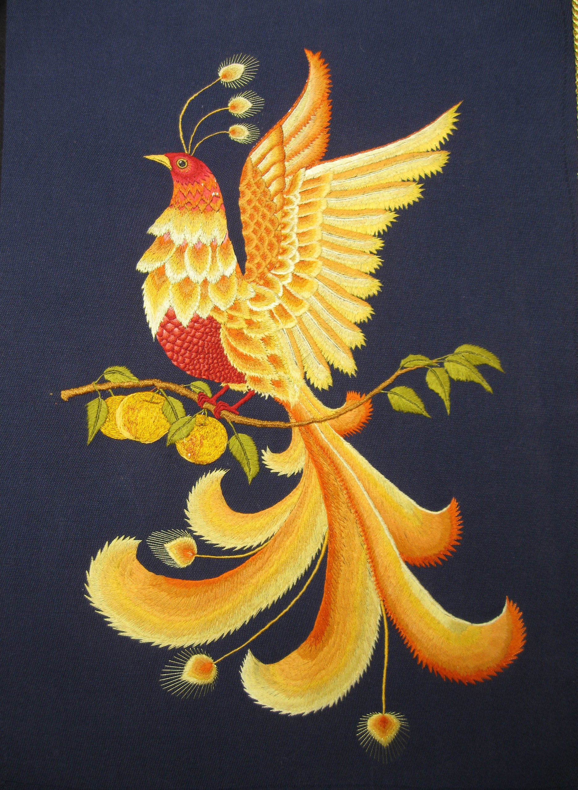 Жар птица сказка своими руками вышивка