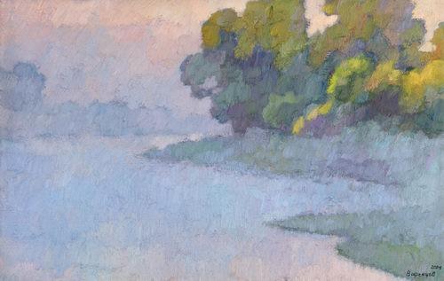 туман живопись: