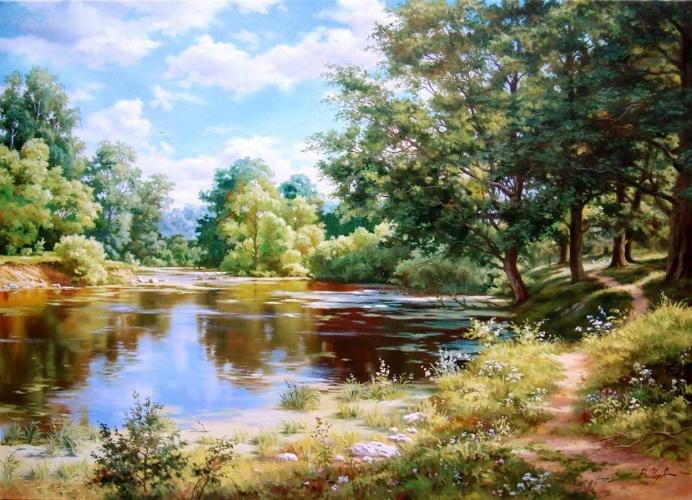 пейзаж в живописи: