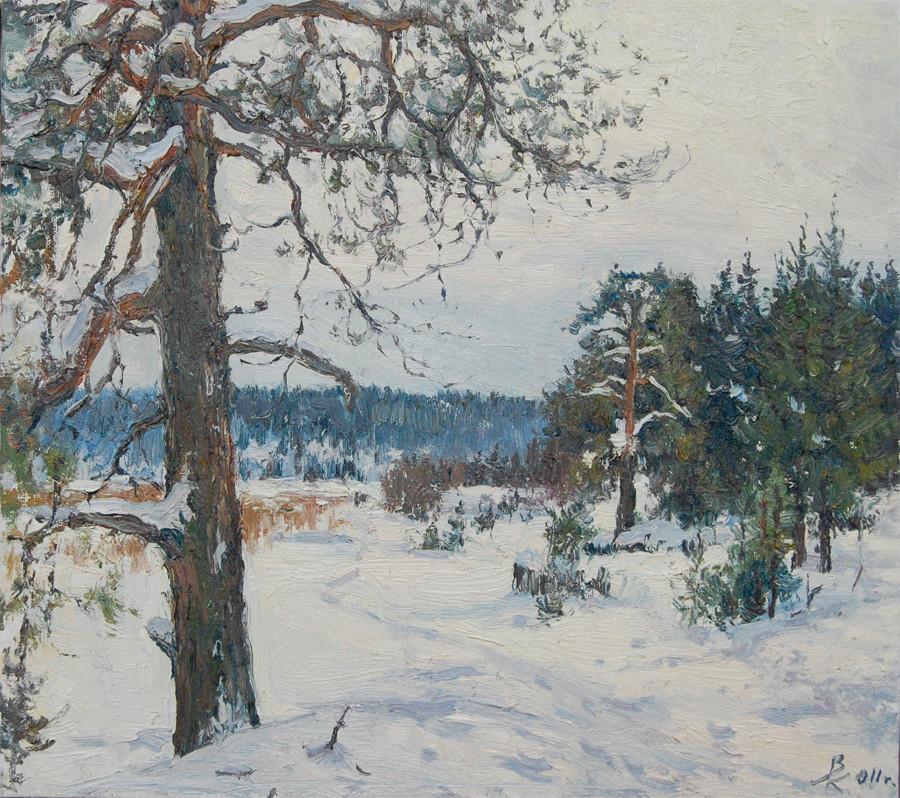 Зима в живопи�и �ов�еменн�� ��дожниковВе�ни�аж Кл�б
