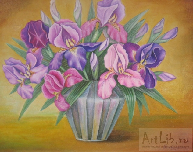 Цветы в вазе картинки нарисованные 5