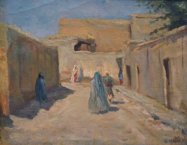 старый город самарканд фото