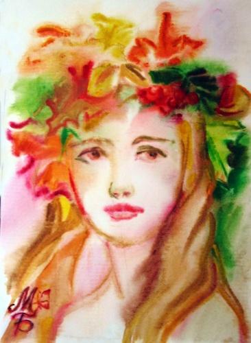 портрет осени картинки