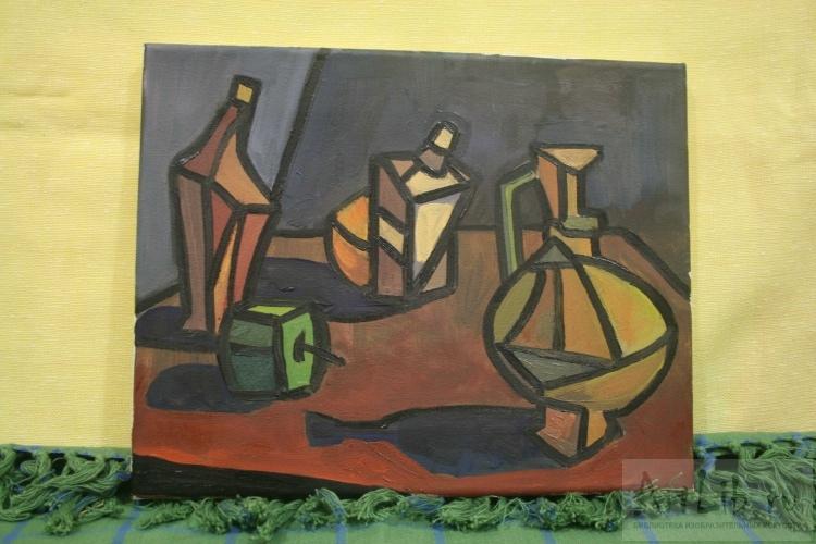пикассо натюрморт: