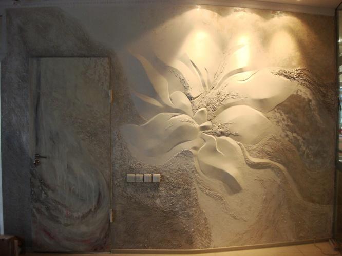 Барельеф на стене своими руками для начинающих: мастер 17