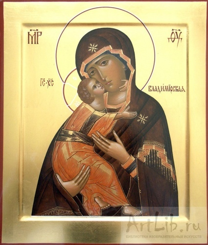 Владимирская икона богородицы